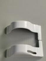 9953-001 Крайни тапи за управление леви за механизъм лукс- бели
